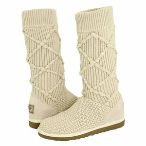 Ugg 5879 Classic Argyle Knit Winter Boot